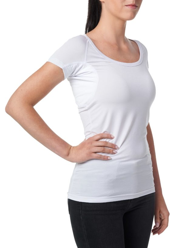 Dámske Tričko pod košeľu proti poteniu Gobi - Biele